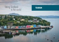 Taking Scotland to the world