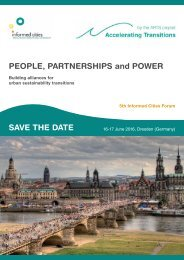 PEOPLE PARTNERSHIPS and POWER SAVE THE DATE
