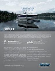 download pdf sales sheet - Sunstream Boat Lifts