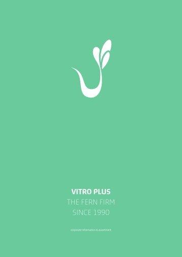VitroPlus Fern Catalog 2016