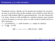 Unidad 3 - Eratóstenes y el Radio Terrestre