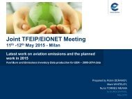 Joint TFEIP/EIONET Meeting