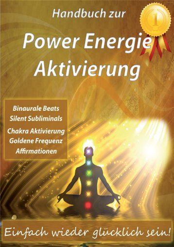 Handbuch zur CD Chakraaktivierung