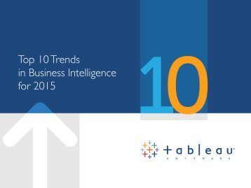 Top 10 Trends in Business Intelligence for 2015