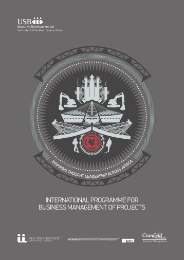 INTERNATIONAL PROGRAMME FOR BUSINESS MANAGEMENT OF PROJECTS