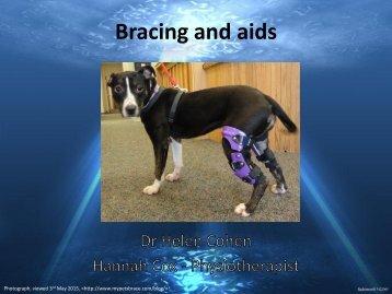 Bracing and aids