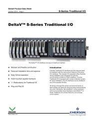 DeltaV S-Series Traditional I/O