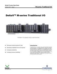 DeltaV M-series Traditional I/O