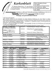 Karkenblatt Jahrgang 48 Nr. 42 vom 14-10-2012, Seite 1 von 3 St ...