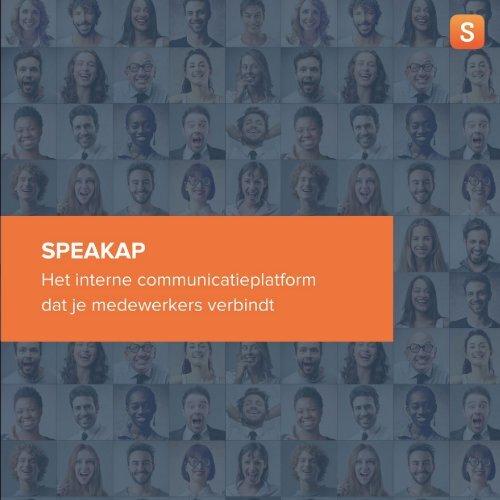 Het sociale platform voor je organisatie - Speakap