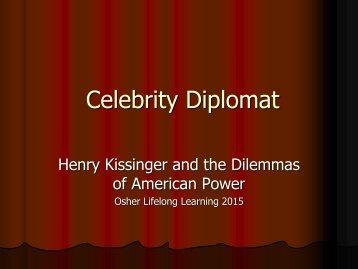Celebrity Diplomat