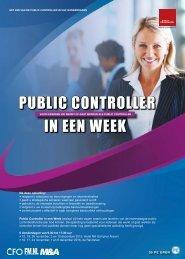 PUBLIC CONTROLLER IN EEN WEEK