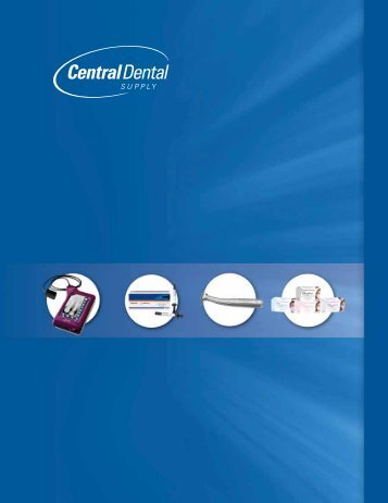 Central Dental 2012 Product Catalogue
