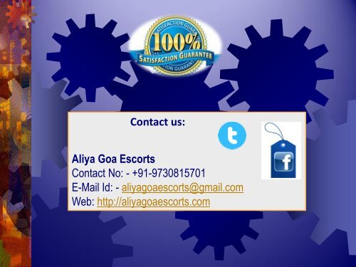 Goa Independent Escorts Agency at Aliyagoaescorts.com