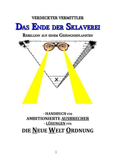 Verdeckter Vermittler_Das Ende der Sklaverei_Loesungen fuer