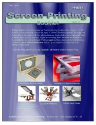 Creative Science & Research - Screen Printing (2003)