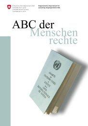 ABC der Menschenrechte