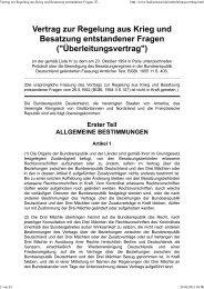 Vertrag zur Regelung aus Krieg und Besatzung entstandener Fragen _(Überleitungsvertrag_)