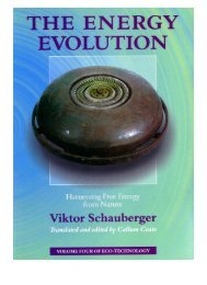 Coats & Schauberger - The Energy Evolution - Harnessing Free Energy from Nature (2000)