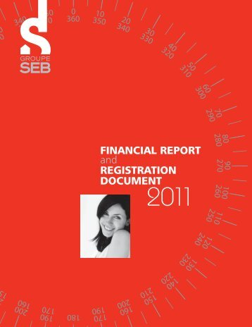financial report and registration document 2011 - Groupe SEB