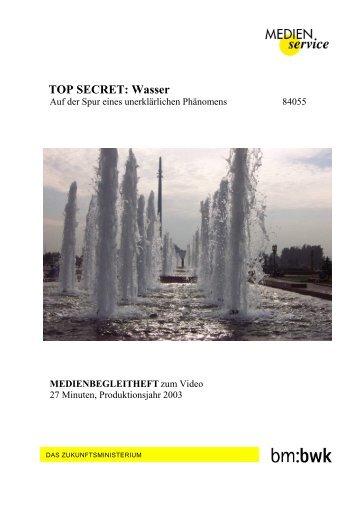 Top Secret Wasser