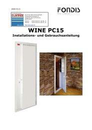 WINE PC15 Installations - Günther Kälte-Klima GmbH