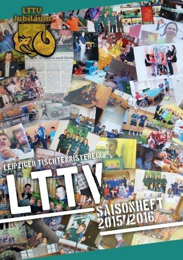 Saisonheft Tischtennis LTTV 2015/16