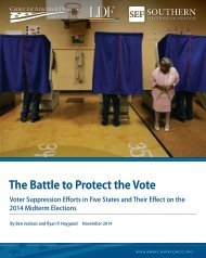 The Battle to Protect the Vote