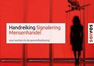 Handreiking Signalering Mensenhandel