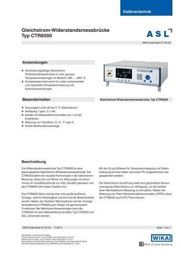 Datenerfassung Sensorversorgung
