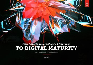 TO DIGITAL MATURITY