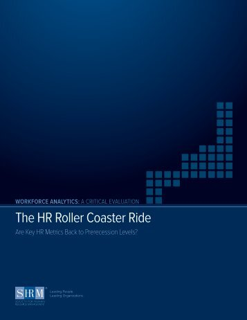The HR Roller Coaster Ride