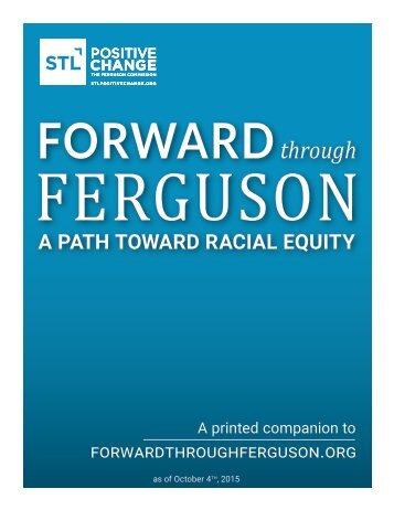 A PATH TOWARD RACIAL EQUITY