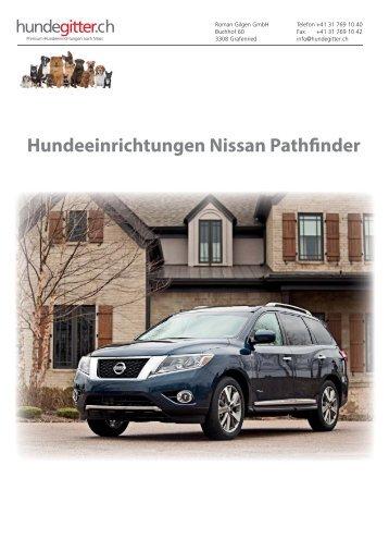 Nissan_Pathfinder_Hundeeinrichtungen