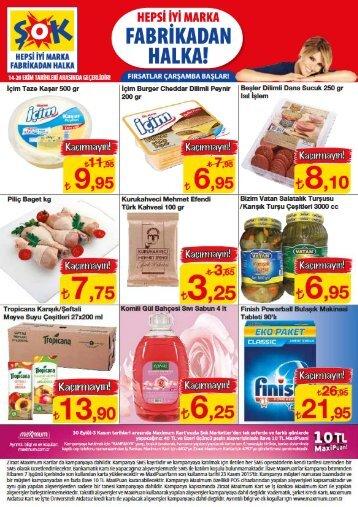 Sok Market aktüel 14-20 Ekim2015