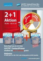 Lucite Contactprimer 2+1 Herbst 2015