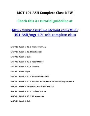 Mgt 401 final exam