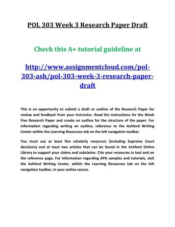 how to make a rough draft for a research paper