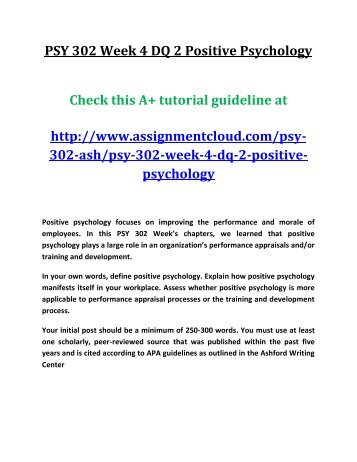 PSY 350 Week 2 Final Project Outline (3 Papers) (Depression, PTSD, Bipolar)