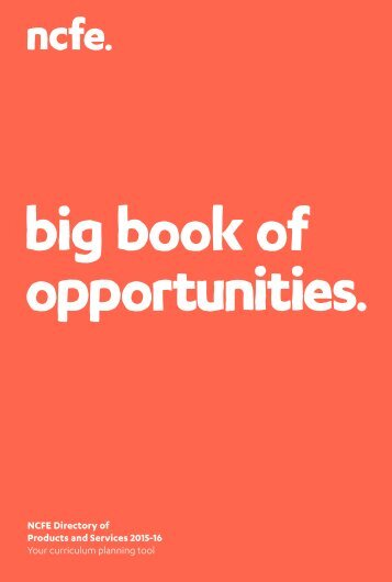 big book of opportunities