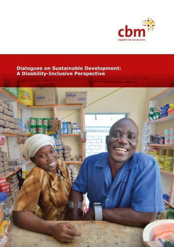 Dialogues on Sustainable Development A Disability-Inclusive Perspective