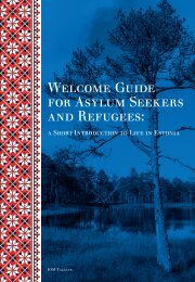 Welcome Guide for Asylum Seekers and Refugees