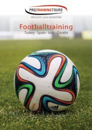 Football training camps 2015/2016