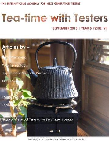 Teatimewithtesters.com September 2015|2