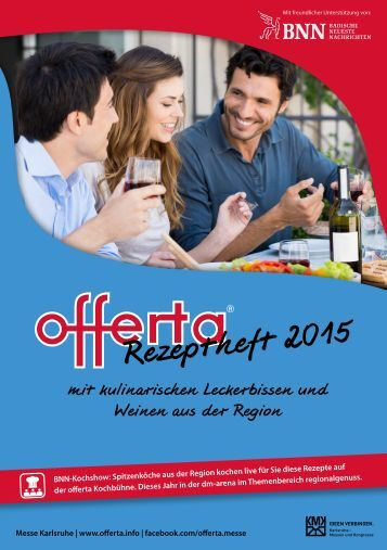 offerta Rezeptheft 2015