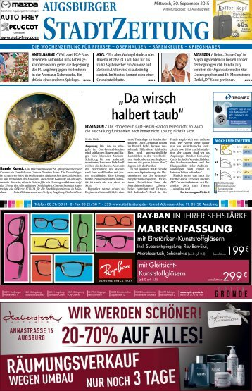 Augsburg - Nord-West 30.09.15