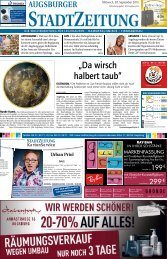 Augsburg - Nord-Ost 30.09.15