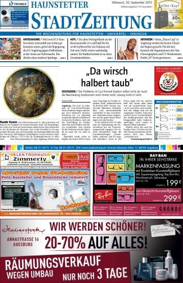 Augsburg - Haunstetten 30.09.15