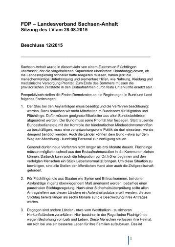 FDP – Landesverband Sachsen-Anhalt