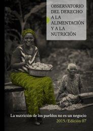 OBSERVATORIO DEL DERECHO A LA ALIMENTACIÓN Y A LA NUTRICIÓN